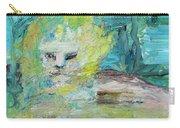 Sitting Lion Oil Portrait Carry-all Pouch