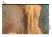 Sitting Nude 3 Carry-all Pouch