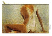 Sitting Nude II Carry-all Pouch