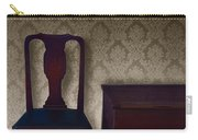 Sitting Room At Dusk Carry-all Pouch by Margie Hurwich