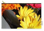 Six Dasies And A Carnation Carry-all Pouch
