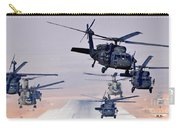 Six Uh-60l Black Hawks And Two Ch-47f Chinooks Carry-all Pouch