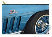 Sixty Six Corvette Roadster Carry-all Pouch by Frozen in Time Fine Art Photography