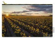 Skagit Daffodils Sunset Sunstar Carry-all Pouch