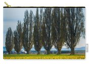 Skagit Trees Carry-all Pouch by Inge Johnsson