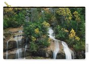 Skagway Waterfall Vertical Panorama Carry-all Pouch