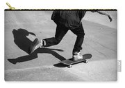 Skateboard Shadow Carry-all Pouch
