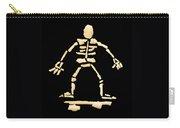 Skateboard Skeleton Carry-all Pouch
