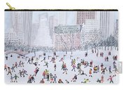 Skating Rink Central Park New York Carry-all Pouch