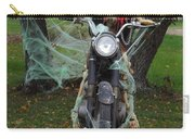 Skeleton Biker On Motorcycle  Carry-all Pouch