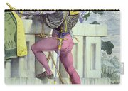 Sketch For The Passions Love Carry-all Pouch by Richard Dadd
