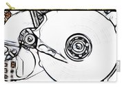 Sketch Of The Hard Disk Carry-all Pouch by Michal Boubin