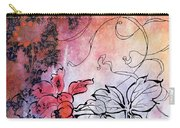 Sketchflowers - Calendula Carry-all Pouch