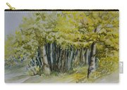 Sketching Trees Carry-all Pouch