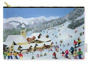 Ski Whizzz Carry-all Pouch by Judy Joel