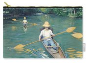 Skiffs Carry-all Pouch by Gustave Caillebotte