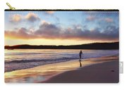 Skimboarder Sunset #2 Carry-all Pouch