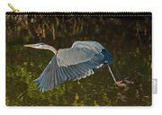 Skimming Great Heron Carry-all Pouch