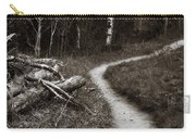 Skinny Trails Carry-all Pouch by Marilyn Hunt