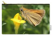 European Skipper On Bird's-foot Trefoil Carry-all Pouch