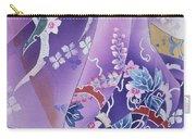 Skiyu Purple Robe Crop Carry-all Pouch