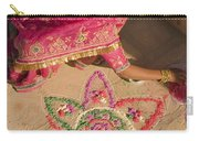 Skn 1707 Rangoli Designer Carry-all Pouch