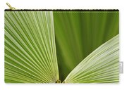 Skc 0691 Paths Of Palm Meeting At A Point Carry-all Pouch