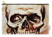 Skull Carry-all Pouch by Anastasiya Malakhova
