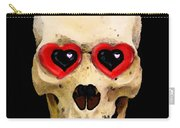 Skull Art - Day Of The Dead 2 Carry-all Pouch by Sharon Cummings