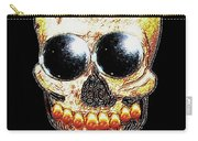 Skull Art In A Surrealism Definition Carry-all Pouch