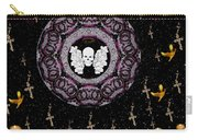 Skull Night In Peace Carry-all Pouch