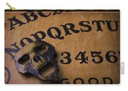 Skull Planchette Carry-all Pouch