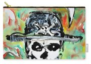 Skull Quoting Oscar Wilde.1 Carry-all Pouch