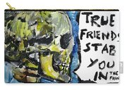 Skull Quoting Oscar Wilde.2 Carry-all Pouch