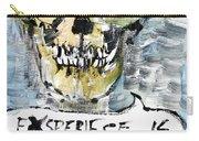 Skull Quoting Oscar Wilde.4 Carry-all Pouch