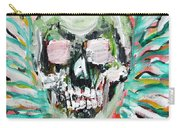 Skull Quoting Oscar Wilde.7 Carry-all Pouch