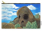 Skull Rock Carry-all Pouch by Anastasiya Malakhova