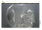 Skull Rock Crystal Carry-all Pouch