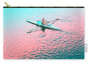 Skulling Boat At Sunset Carry-all Pouch
