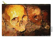 Skulls In The Paris Catacombs Carry-all Pouch
