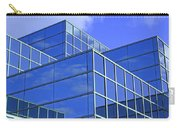 Sky Blue Mirror Carry-all Pouch