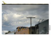 Sky Clouds And Graffiti Old Santa Fe Railyard Carry-all Pouch