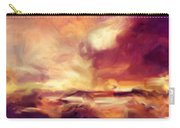 Sky Fire Abstract Realism Carry-all Pouch