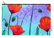 Sky Poppies Carry-all Pouch