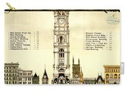 Sky Scrapers Of Philadelphia 1896 Carry-all Pouch