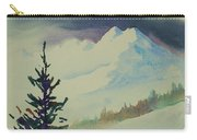 Sky Shadows And Spruce Carry-all Pouch