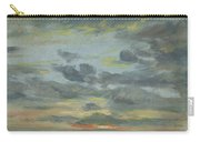Sky Study, Sunset, 1821-22 Carry-all Pouch
