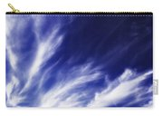 Sky Wisps Blue Carry-all Pouch