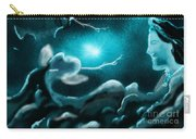 Sky With Romantic Rainy Cloud Carry-all Pouch