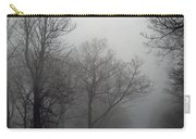 Skyline Drive In Fog Carry-all Pouch